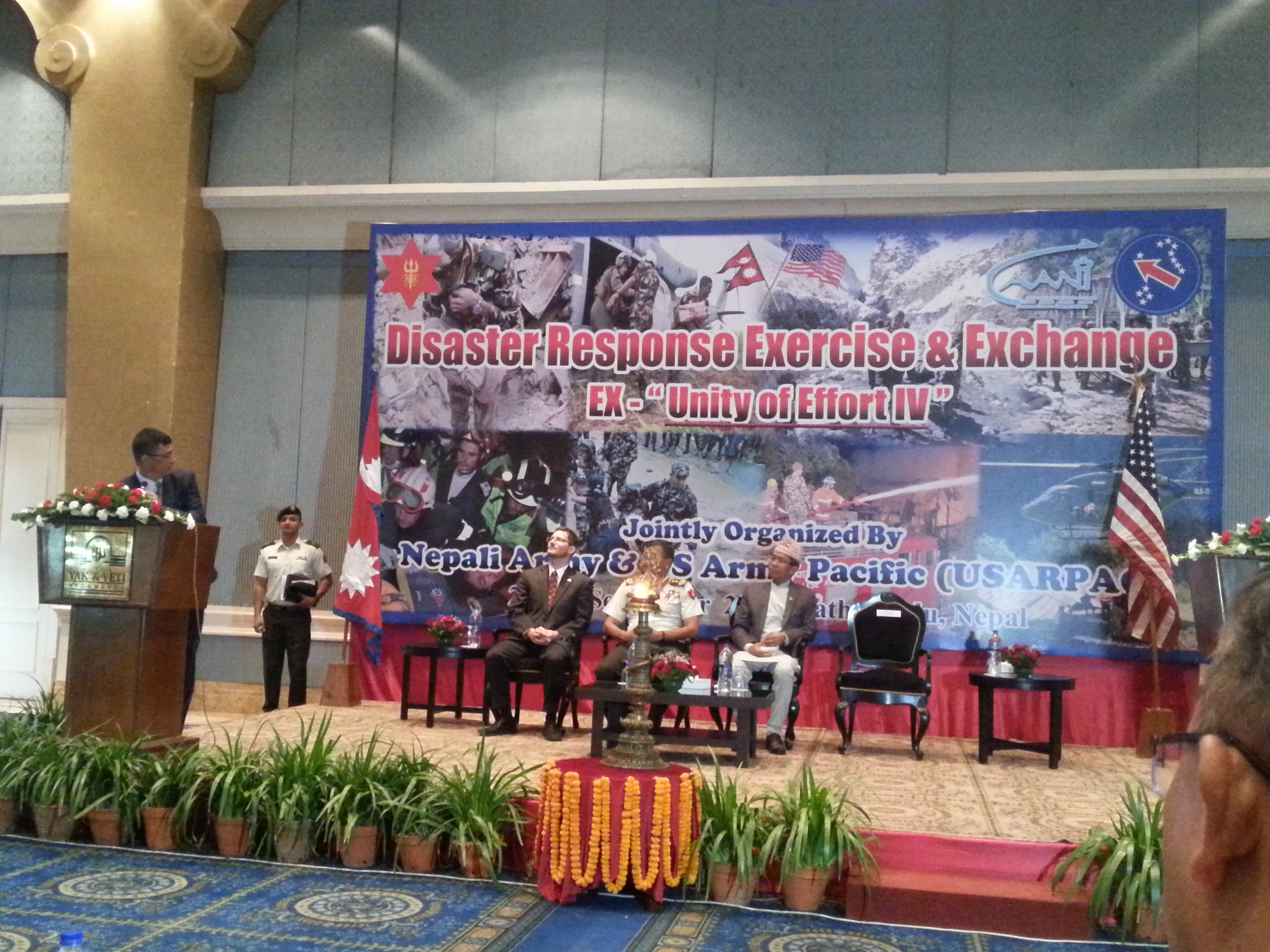 Inauguration of Disaster Response Exercise & Exchange